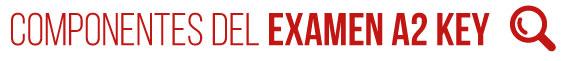 Componentes del Examen A2 Key