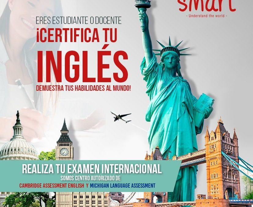 ¡ABC EN CERTIFICADOS DE INGLÉS!